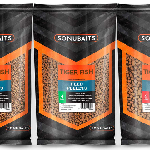 Sonubaits Tiger Fish Feed Pellets - The Creel Gloucester