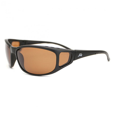 Fortis Wraps Brown 24/7 Polarised Sunglasses - The Creel Gloucester Fortis