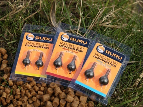 Guru Pellet Waggler Float Converters - The Creel Gloucester Guru