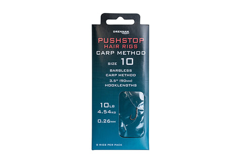 Drennan Pushstop Hair Rigs Carp Method Hooks To Nylon - The Creel Gloucester Drennan