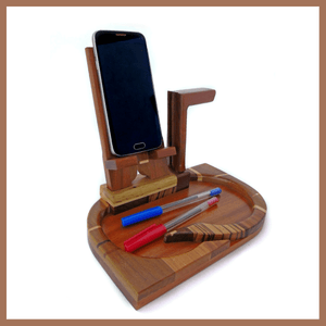 Wooden Docking Station - Made in Italy