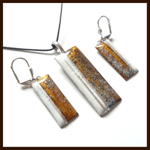 Firenze & Earrings - Bronze