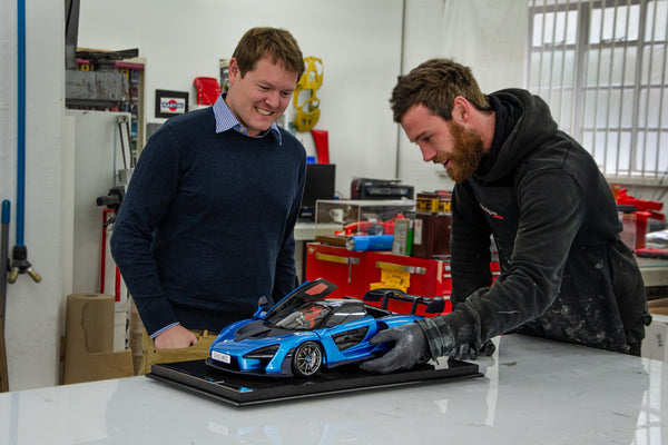 Shmee150 Collects His Bespoke McLaren Senna