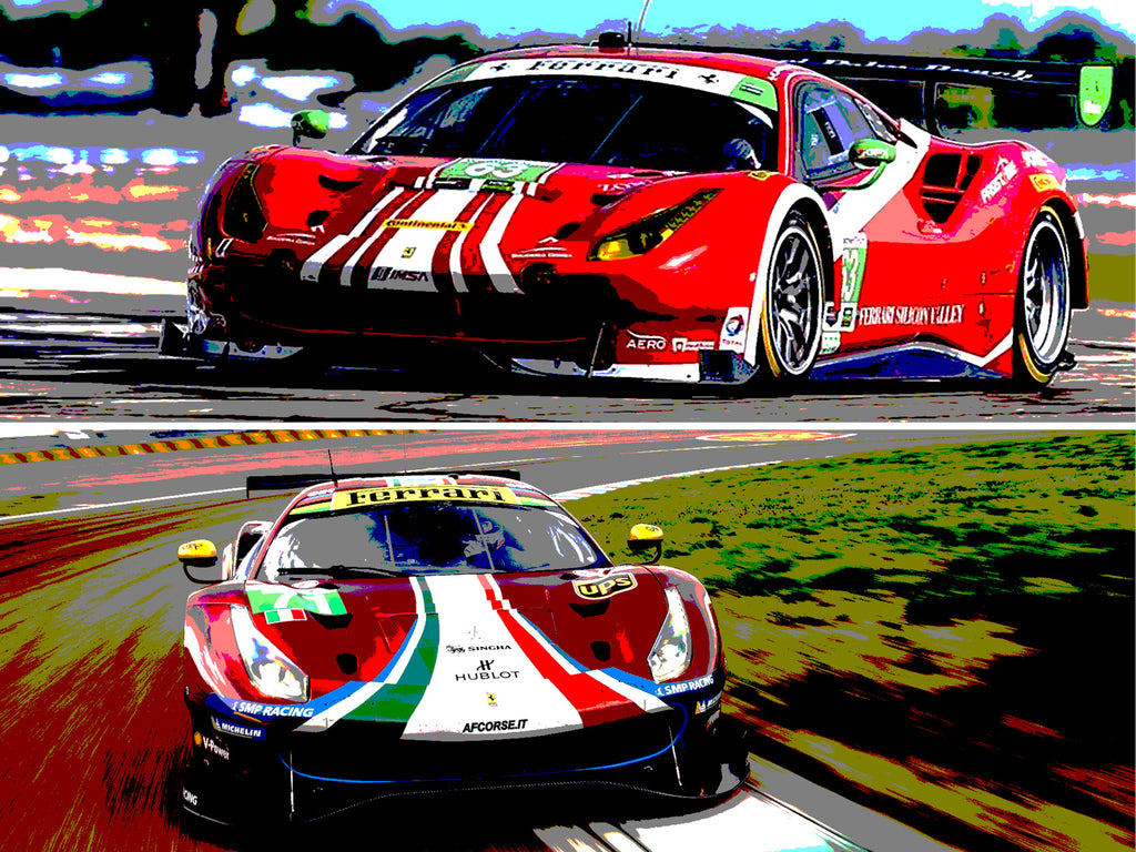 Amalgam to produce Ferrari 488 GT3 and GTE