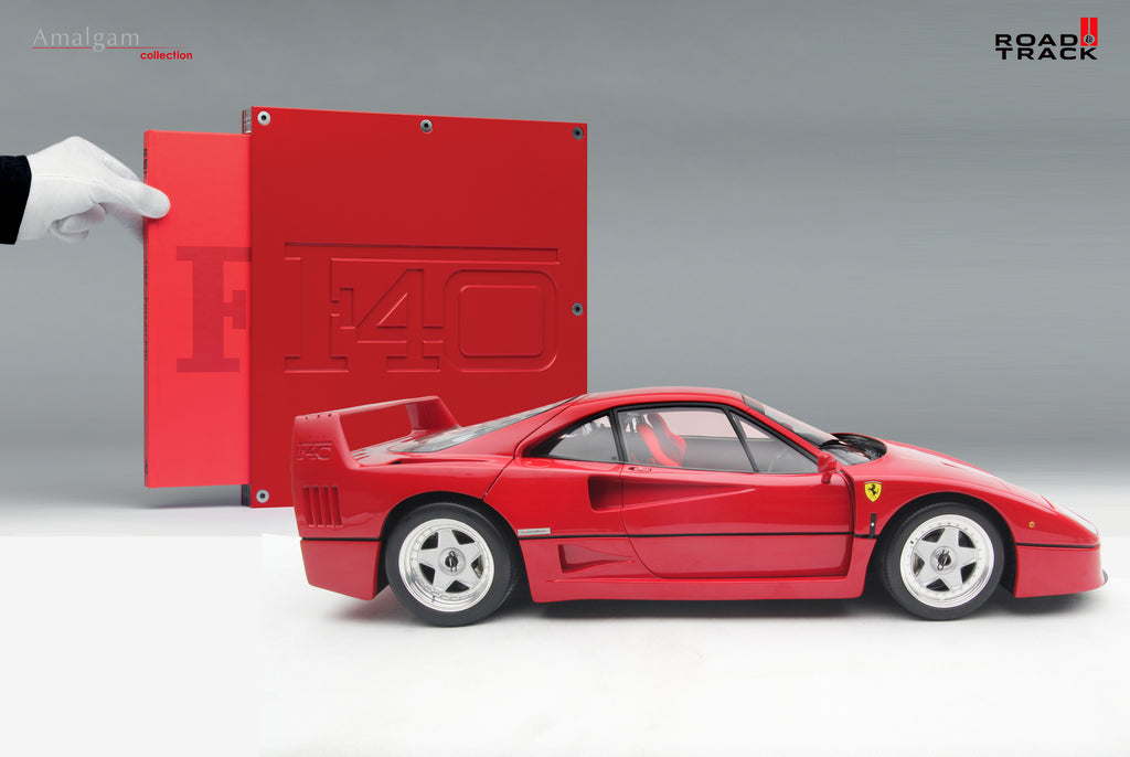 Amalgam Collection launches special Limited Special Edition of 5 1:8 Ferrari F40 models in partnership with Road & Track