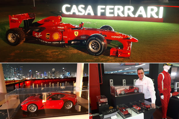 Amalgam support Ferrari Events in the Middle East