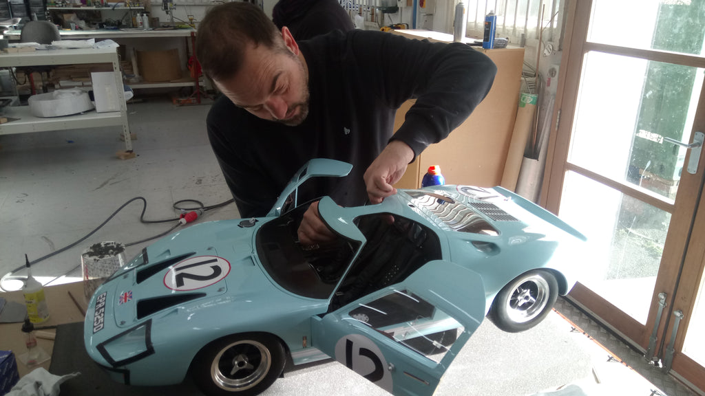 Amalgam Collection Bristol Workshop - GT40 build