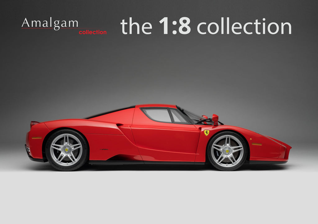 The iconic Ferrari Enzo now available at 1:8 scale