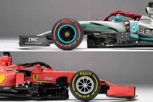 Amalgam's Latest F1 Models at 1:18 Scale