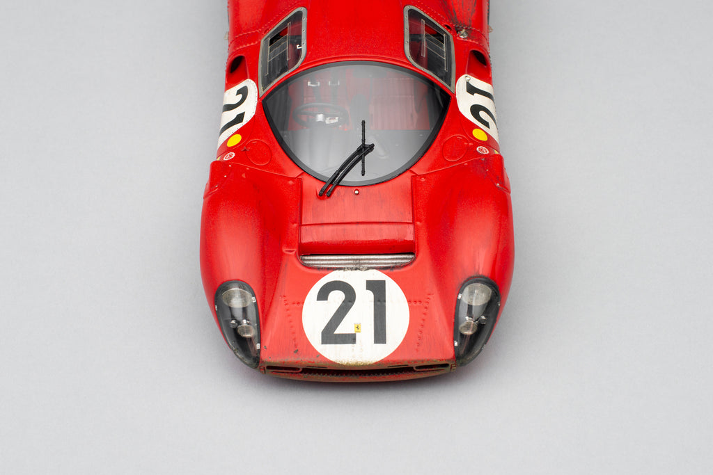 Less Than 50 of Amalgams's Race Weathered 1:18 Ferrari 330 P4s Remain