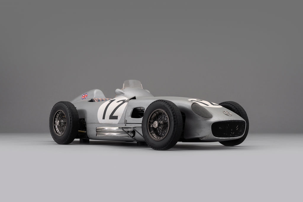 Amalgam Announces the Race Weathered Mercedes-Benz W196 Monoposto at 1:8 Scale