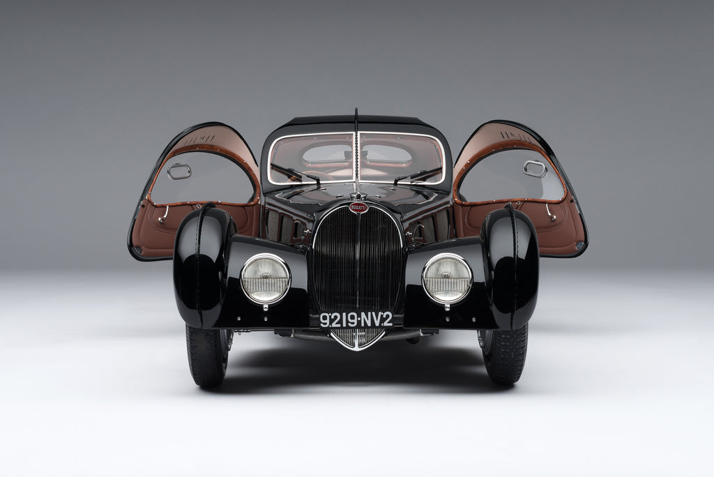 1938 Bugatti Type 57SC Atlantic – La Voiture Noire at 1:8 scale