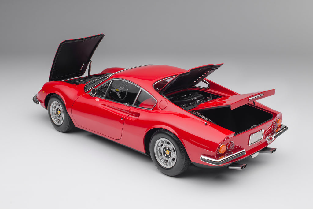 Ferrari Dino 246 GT at 1:8 scale