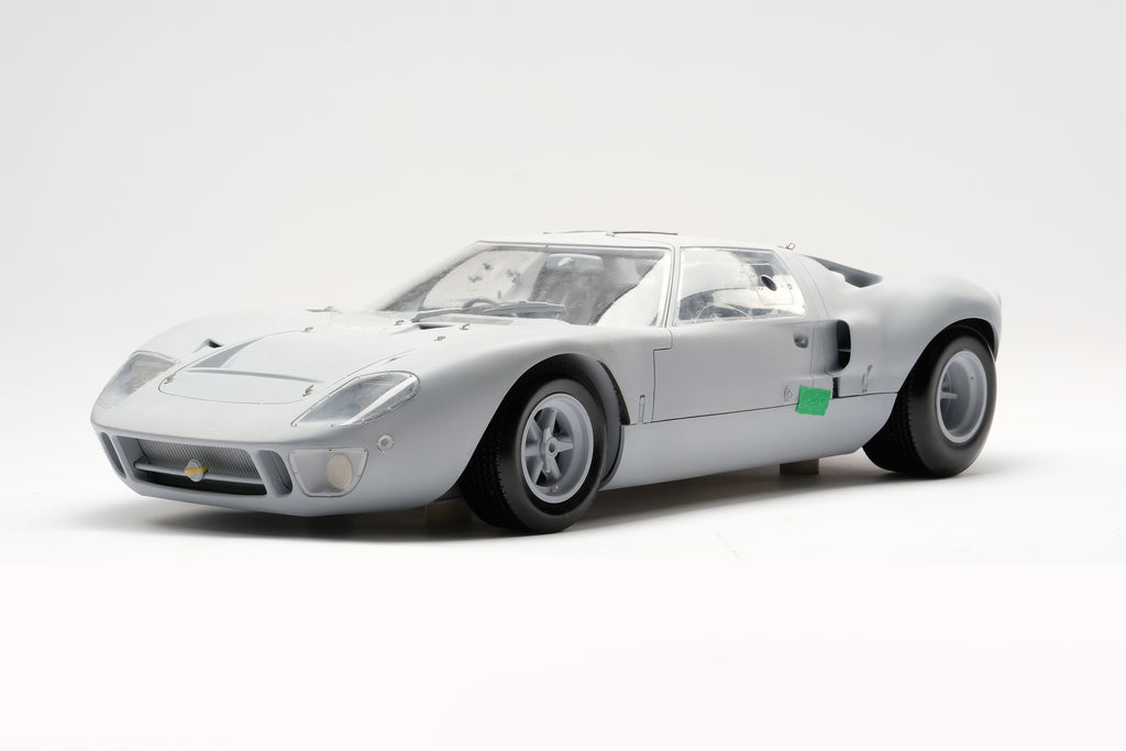 Ford GT40 - 1:8 Scale Model of chassis #1075 Reaches Prototype Stage