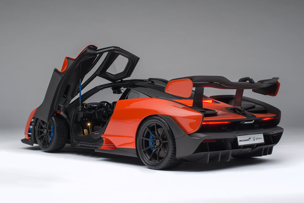 MCLAREN SENNA WITH LIGHTING and automatic doors