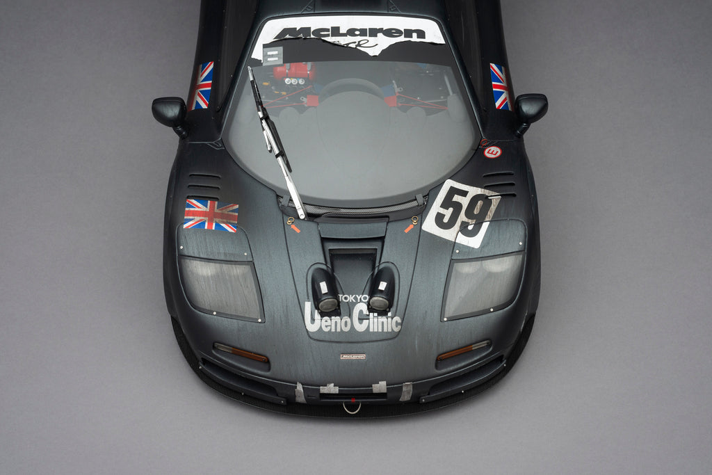 Amalgam Race Weather the 1995 Le Mans Winning McLaren F1 GTR