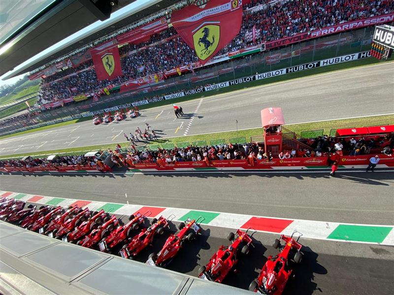 Amalgam meet with friends at Ferrari's Finali Mondiali at Mugello