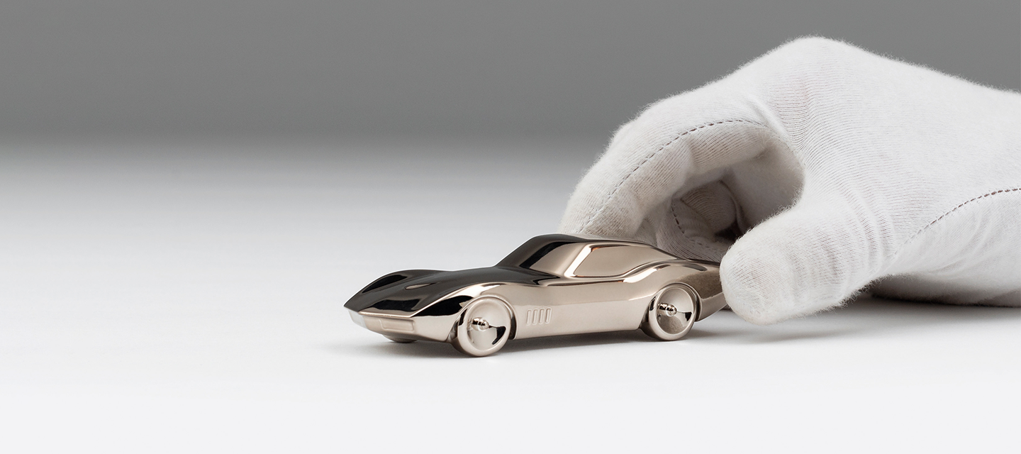 Amalgam Collection Chevrolet Corvette Sculptures