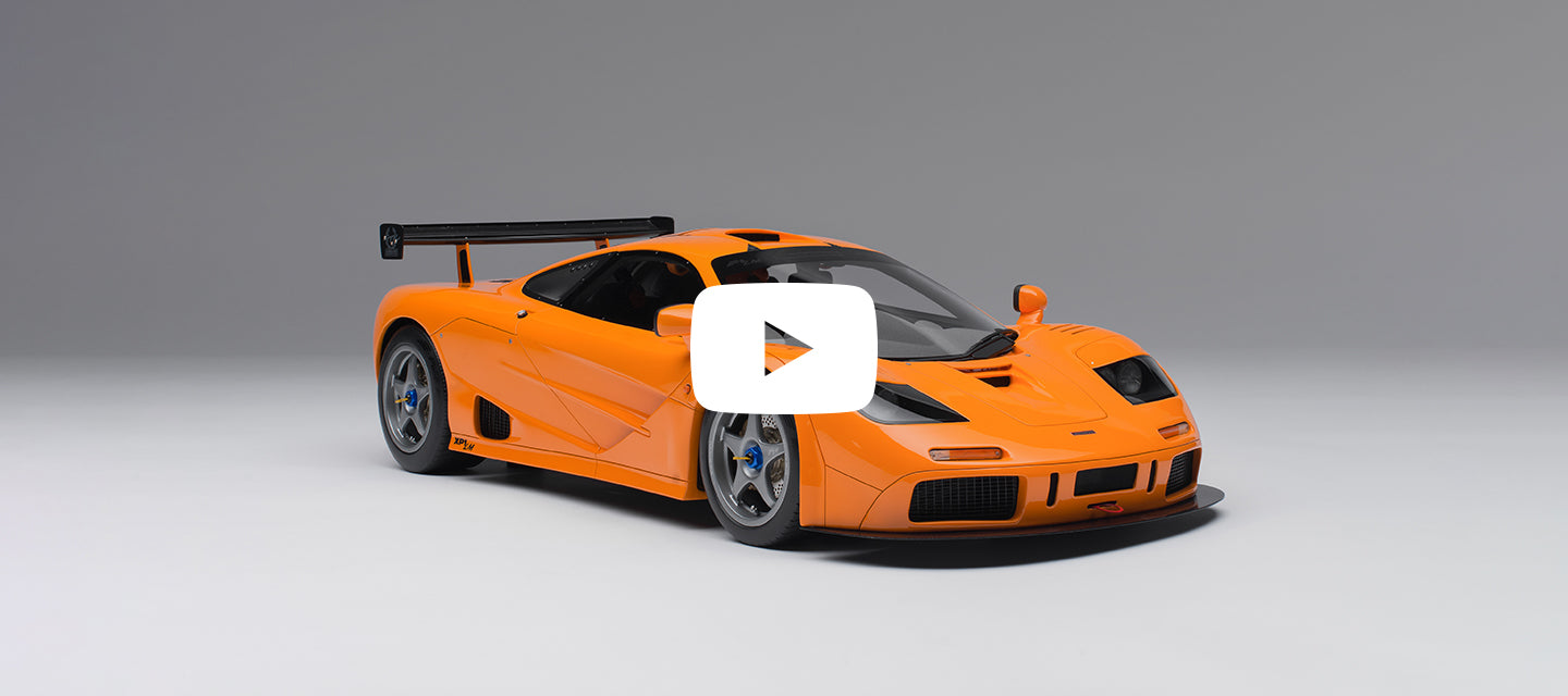 McLaren F1 LM Amalgam model at 1:8 scale