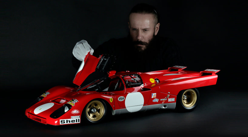 Bespoke Ferrari 512M at 1:5 scale