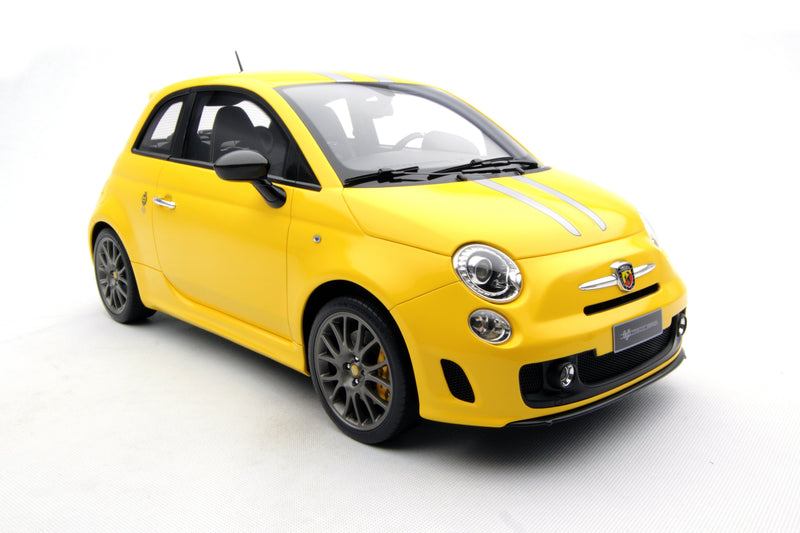 Abarth 695 Tributo Ferrari - Yellow (2009)
