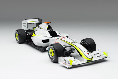 Brawn BGP 001 - 2019 Monaco GP - Button