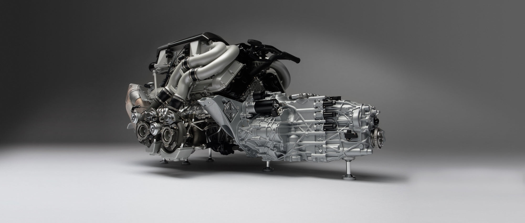 Bugatti Chiron Engine and Gearbox