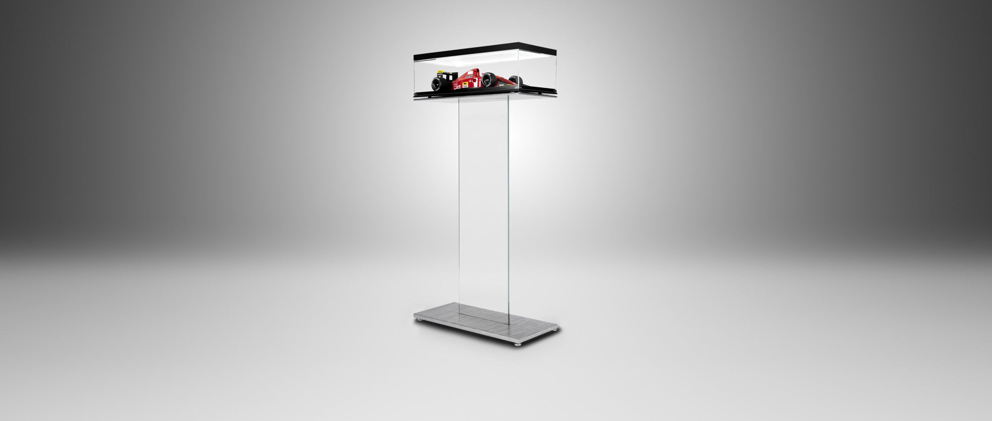 Glass Blade Display Stand - F1 Models - Black