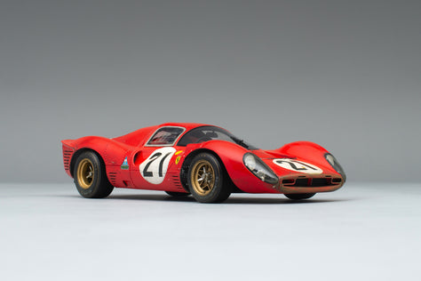 Ferrari 330 P4 - 1967 Le Mans - Race Weathered