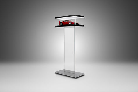 Glass Blade Display Stand - GT Models - Black