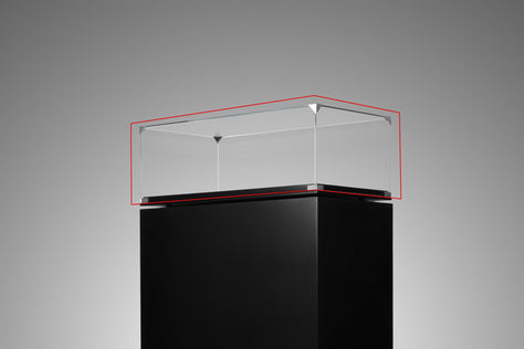 Extra High Clear Glass Cover - F1 Size