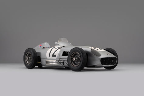 Mercedes-Benz W196 Monoposto - 1955 British GP Winner - Race Weathered