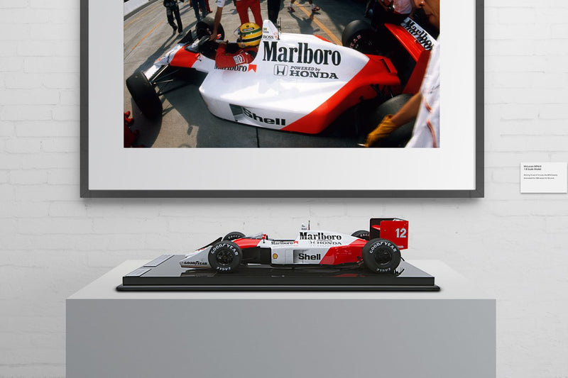 Unique One-Off Race-Weathered McLaren MP4/4