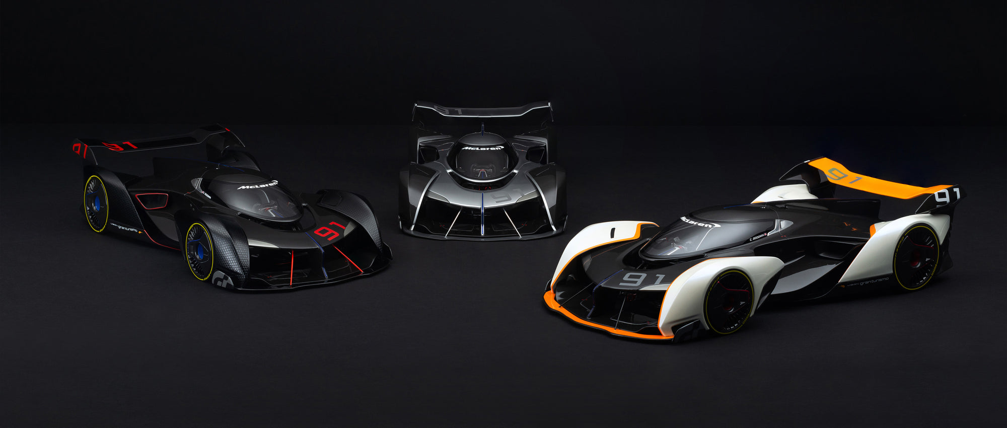 McLaren Ultimate Vision Gran Turismo - Signed Edition