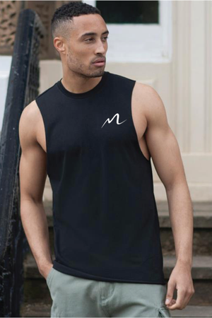 Essential Mens Sleeveless T-Shirt (3 Colours)