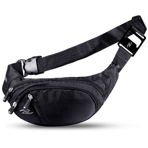 Zol Unisex Medium Fanny Pack Waist Bag with Bottle Opener - Zol