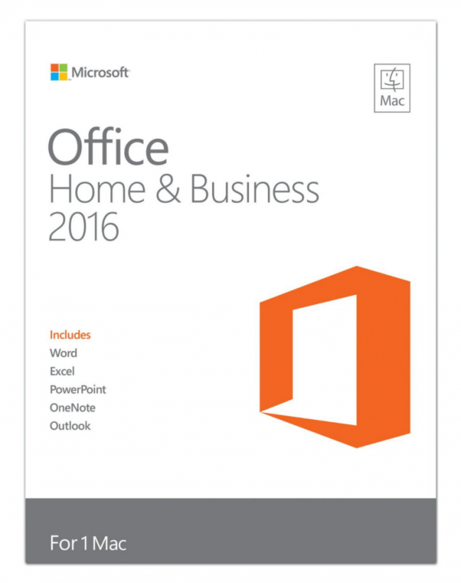 Office 2016 for Mac Home & Business