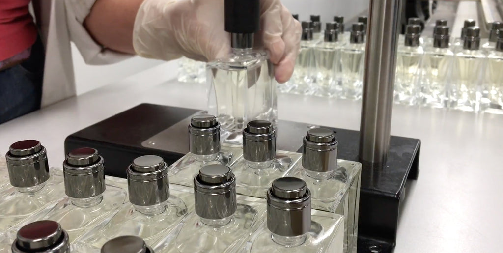 From Raw Materials to Finished Cologne: Part 3 - Mix, Mature and Bottle