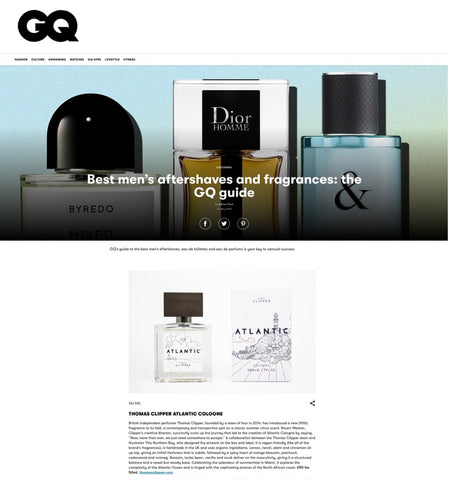 Recommended in British GQ
