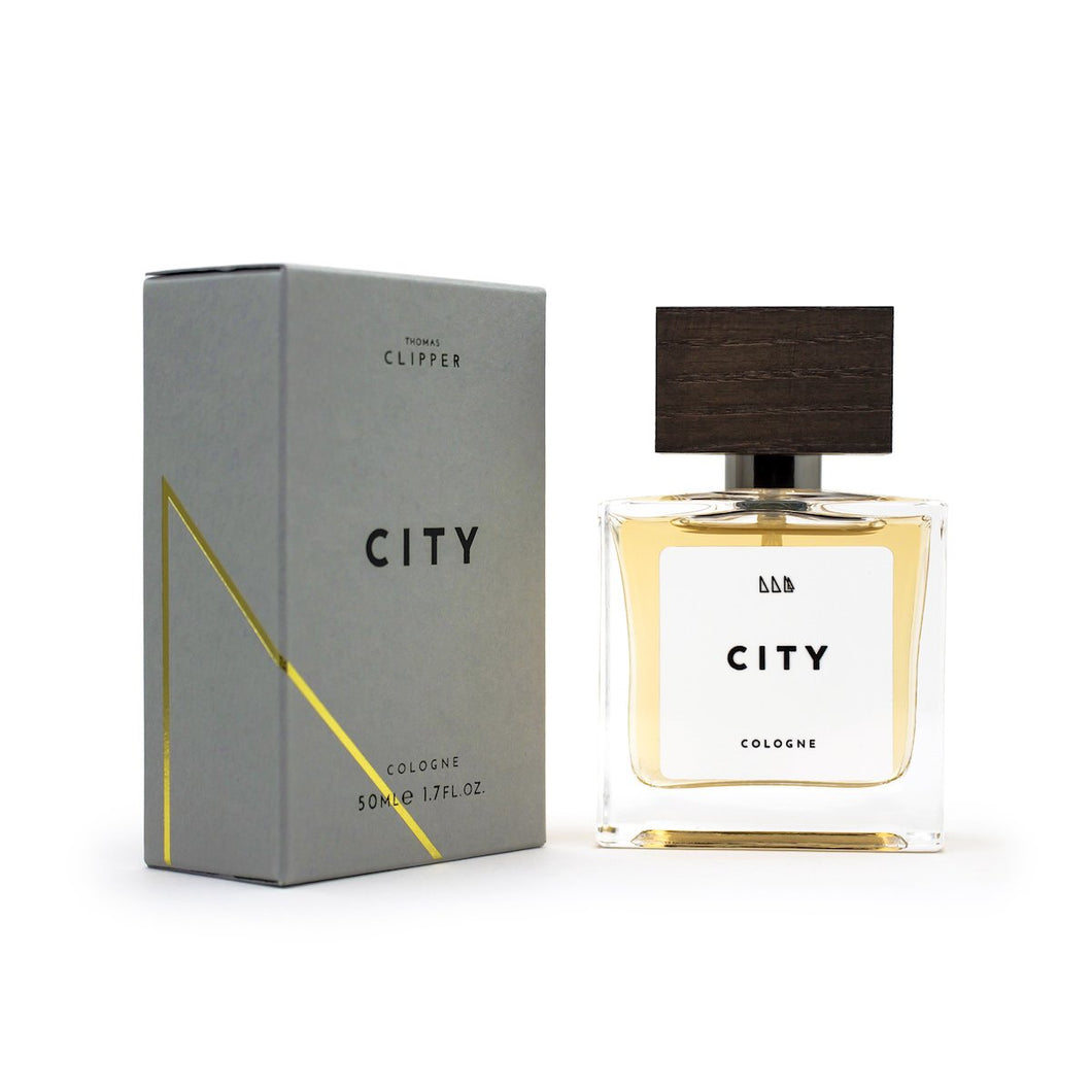 City - 50ml Cologne - Thomas Clipper