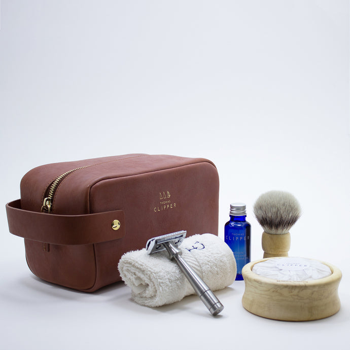 The Perfect Shaving Kit - Travel Edition - Thomas Clipper