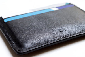 Minimalist Leather Card Holder - Original - Thomas Clipper
