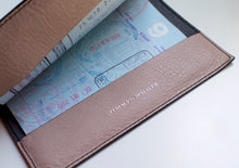 Load image into Gallery viewer, Leather Passport Holder