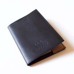 Leather Passport Holder - Thomas Clipper