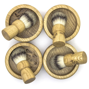 The perfect shave starts with a fantastic British shaving brush and bowl.
