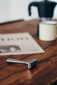 Wake up to something better from Thomas Clipper with the Mark K Safety Razor.