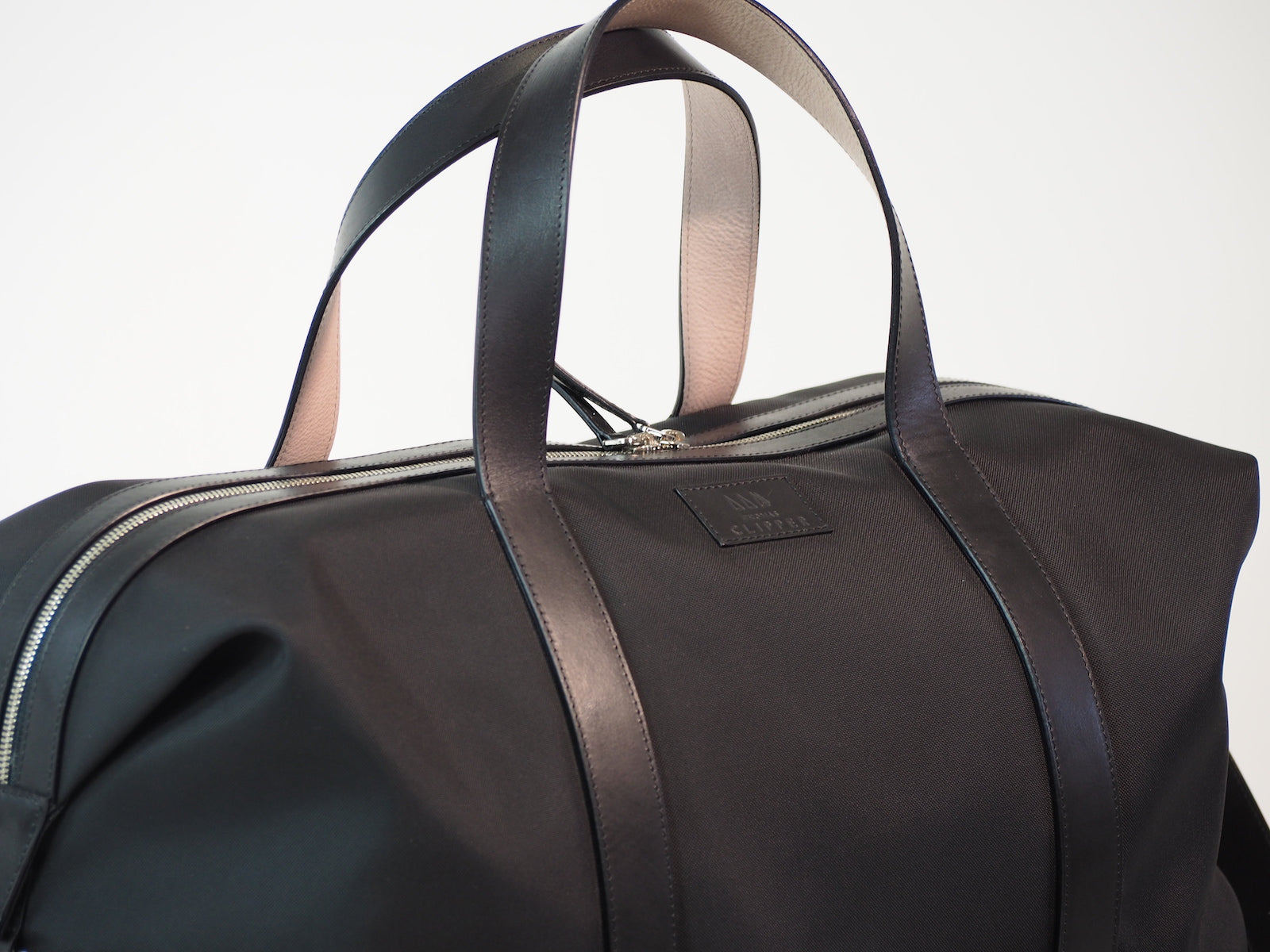 Leather Trim Weekend Duffle