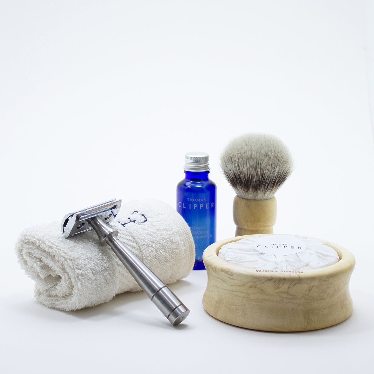 The Perfect Shaving Kit from Thomas Clipper