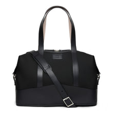 Load image into Gallery viewer, Leather Trim Overnight Bag - Thomas Clipper