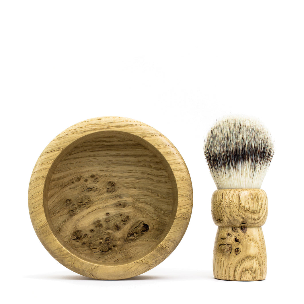 Anniversary Oak - Shaving Kit - Thomas Clipper